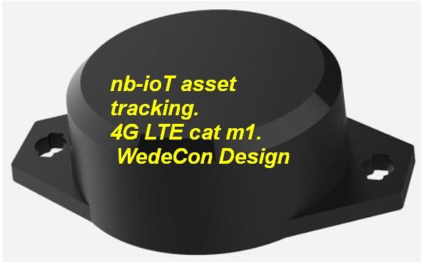 nb-iot asset tracking LTE GSM elektronikudvikling