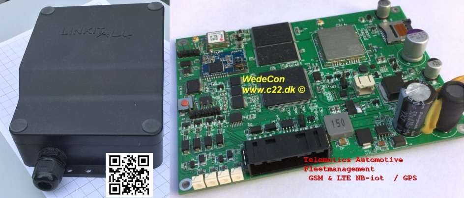 customized Automotive Telematics Fleet management BG95M3LATEA eagle altium